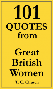 101 Quotes from Great British Women